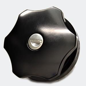 Land Rover Aluminium Fuel Cap Black